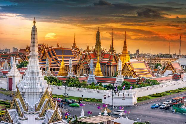 Grand palace and Wat phra keaw in Bangkok