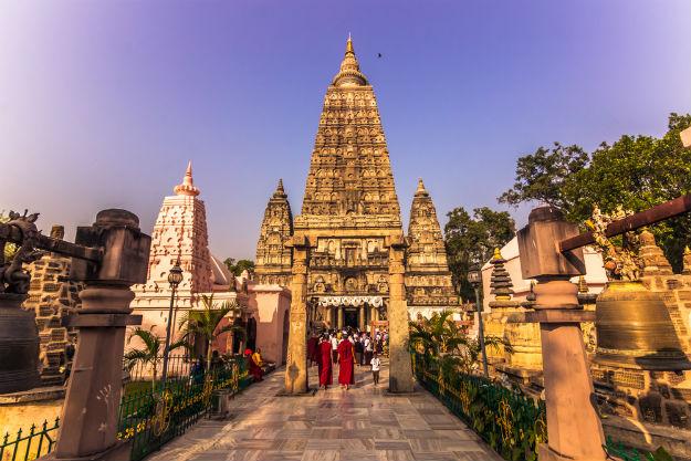 Bodh gaya temple in Bihar