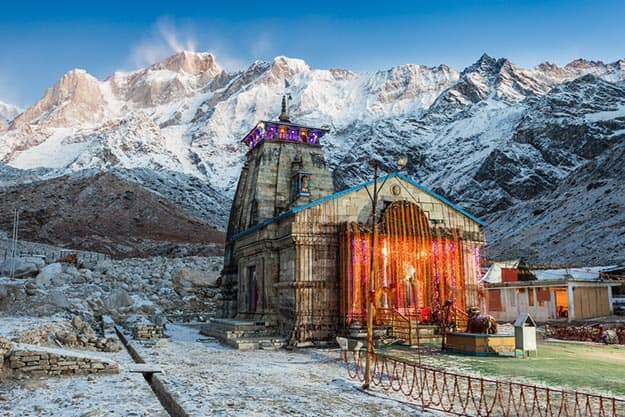 Kedarnath, one part of the Chota Char Dham