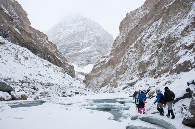 Chadar Trek over Zanskar