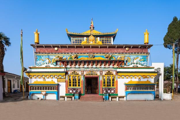 Old Ghoom Monastery near Darjeeling