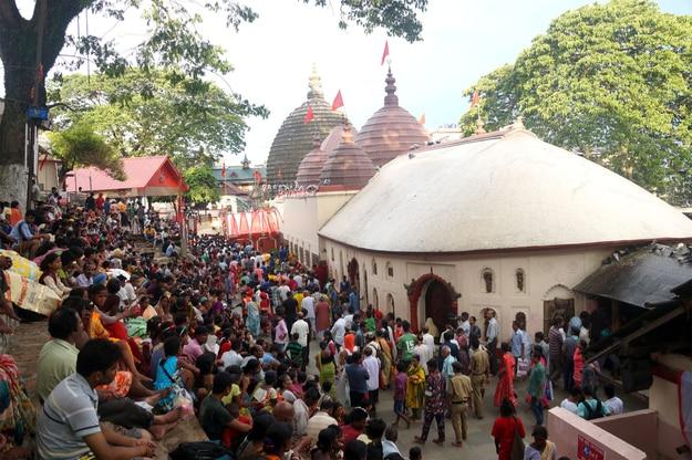 Ambubachi Mela Festival in Kamakhya Temple in Guwahati