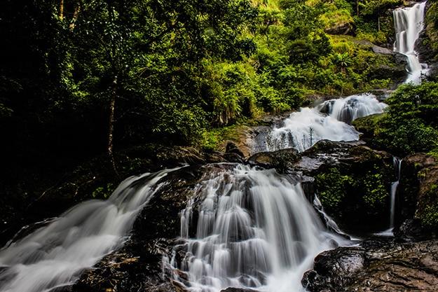 Iruppu waterfalls Karnataka