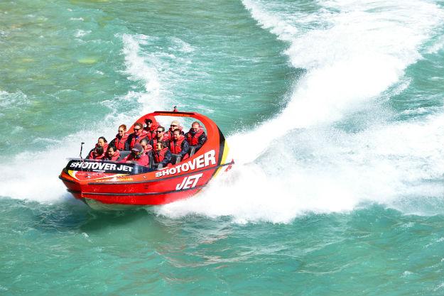 Jet Boat in New Zealand