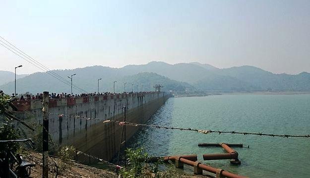 Massanjore Dam, Photograph Courtesy: Ashish itct/Wikimedia Commons