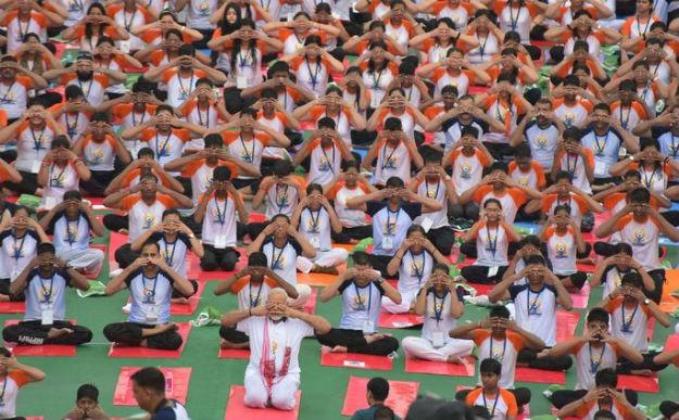 Modi yoga 4