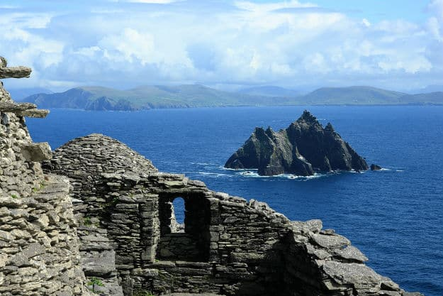 Beautiful view from Skellig Michael