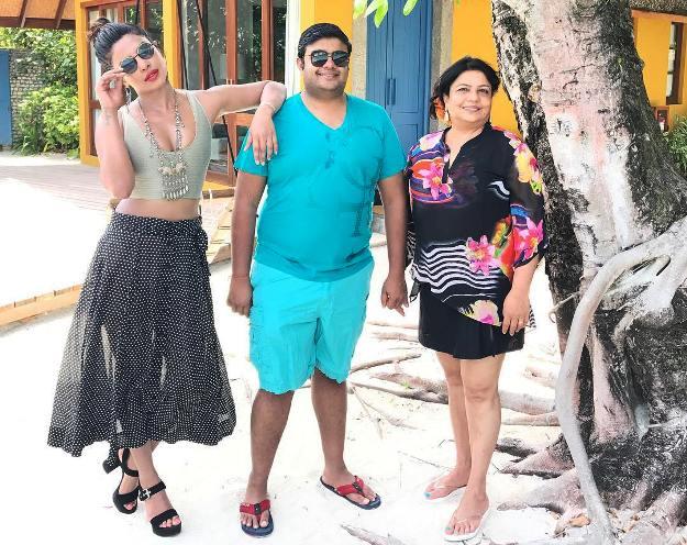 Priyanka Chopra's Birthday Vacation in Maldives Is a Desi Family Holiday