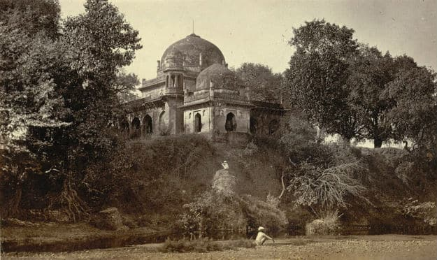 Burhanpur - a tomb in the 1980s