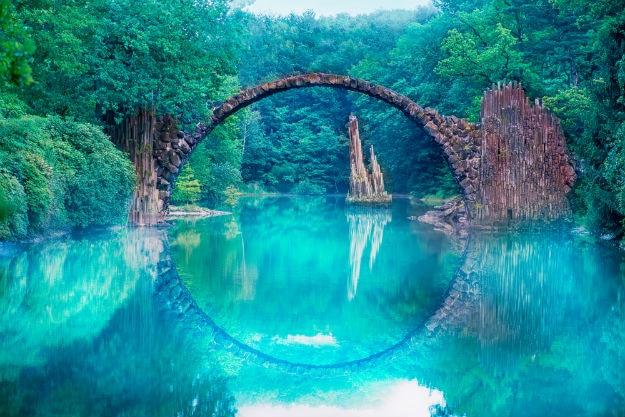 Devils bridge in Germany
