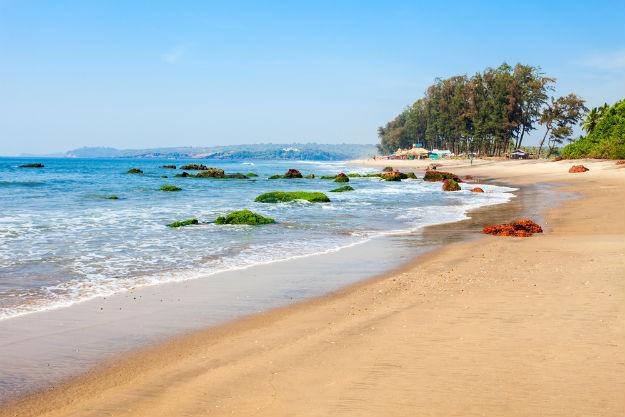 Keri Beach in north Goa