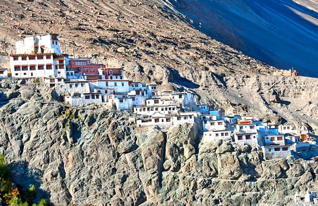 Splendid Diskit Monastery in Nubra Valley