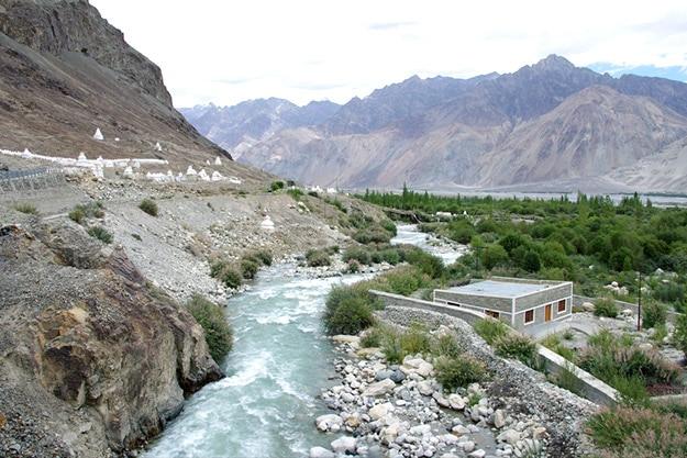 River in Nubra