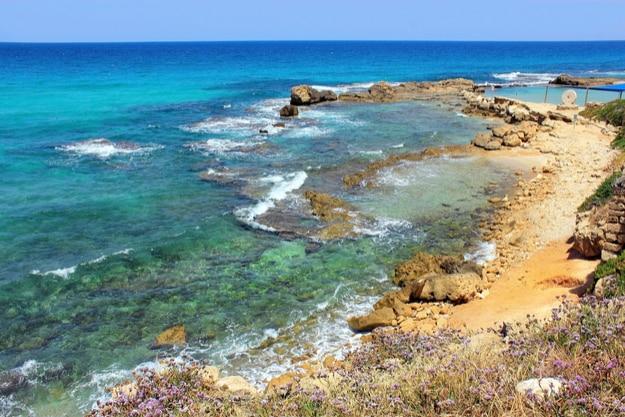 Bay of the Mediterranean Sea from Achziv