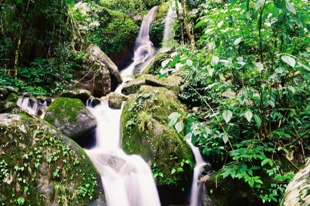 waterfall hills of Meghalaya