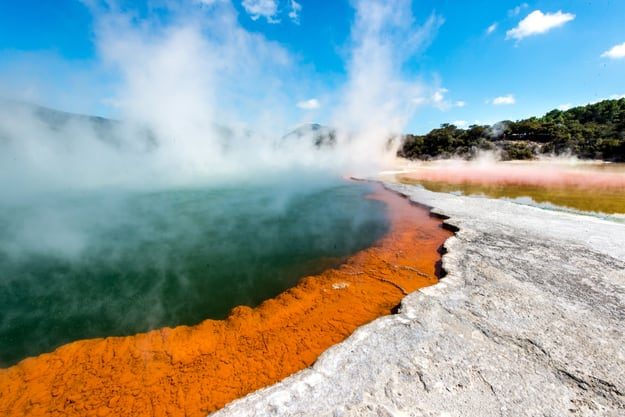 The Champagne Pool at Wai-O-Tapu