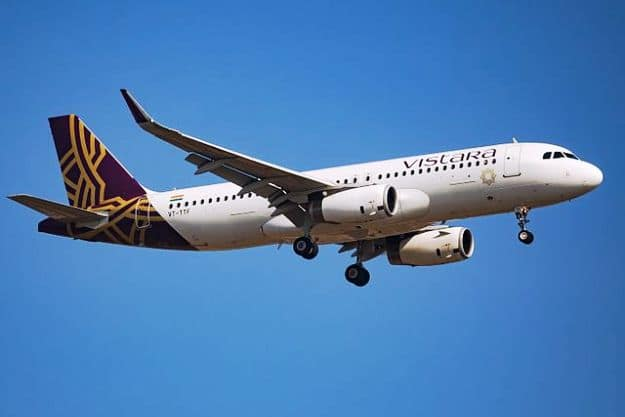 Vistara aircraft in Bengaluru, Photograph Courtesy: Venkat Mangudi/Wikimedia Commons