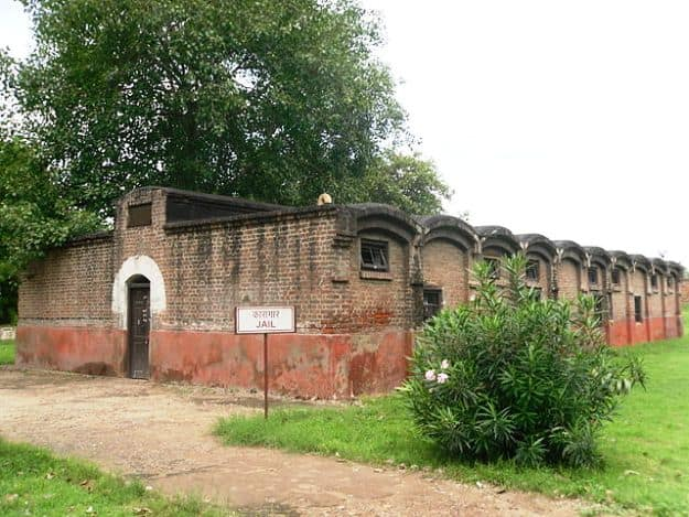 A jail in Salimgarh Fort where General Mohan Singh of the INA was kept under solitary confinement during the Red Fort Trials, Photograph courtesy: Nishant88dp/Wikimedia Commons