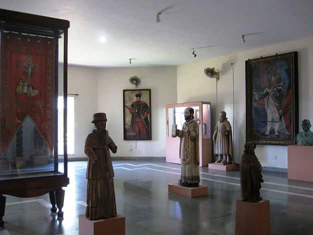Artifacts in the Christian Art Gallery in the Goa State Museum, Photograph courtesy: AaronC/Creative Commons