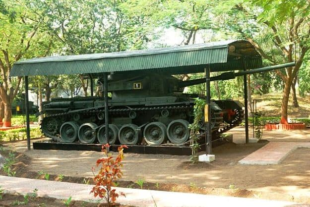 Indian Vijayanta Tank in Ahmednagar Cavalry Tank Museum, Photograph Courtesy: Glasreifen/Wikimedia Commons