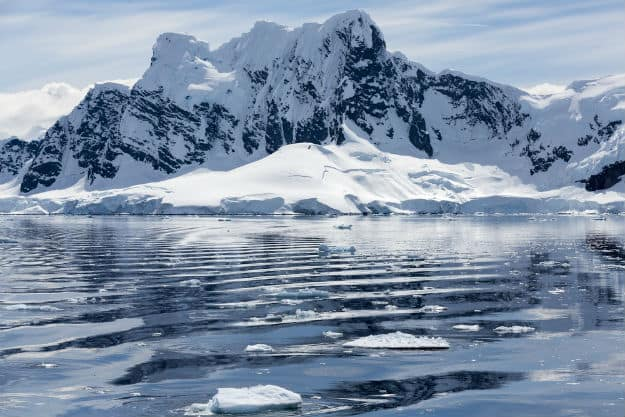 Huge Volcano Region Was Found Under The Icy Antarctica