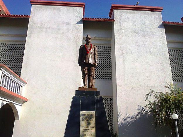 INA Memorial at Moirang, Manipur, Photograph courtesy: PP Yoonus/Wikimedia Commons