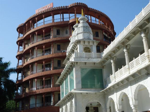 ISKCON Juhu - Photograph: Rohini/Wikimedia Commons