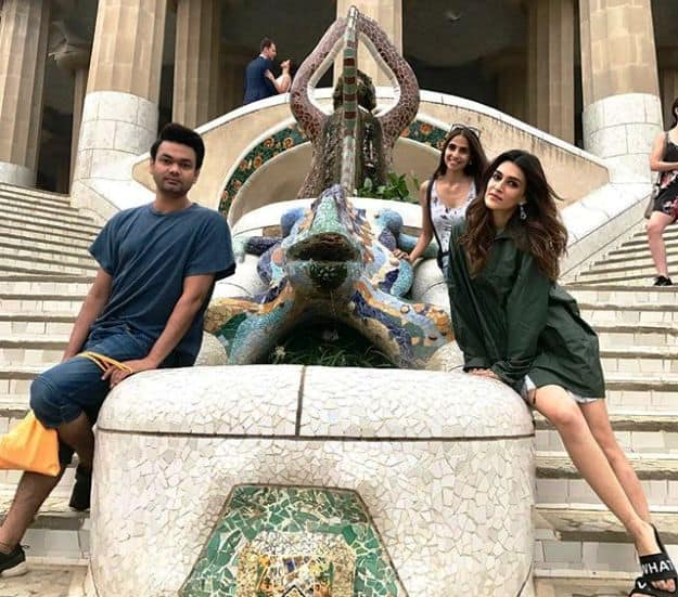 Kriti Sanon's Trip to Spain with Friends is What Squad Travel Goals are Made Of
