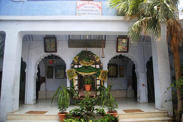Meera Bai temple in Vrindavan