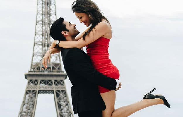 Ruslaan Mumtaz and Wife Nirali Were in Paris Recently and They Painted The Town Red. VIEW PICS