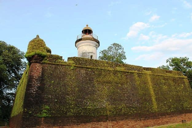 Thalassery Fort, Photograph courtesy: Jithin S/Wikimedia Commons