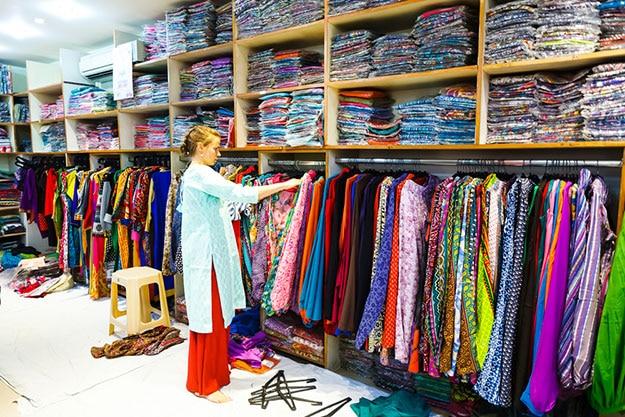 Shopping in Vrindavan