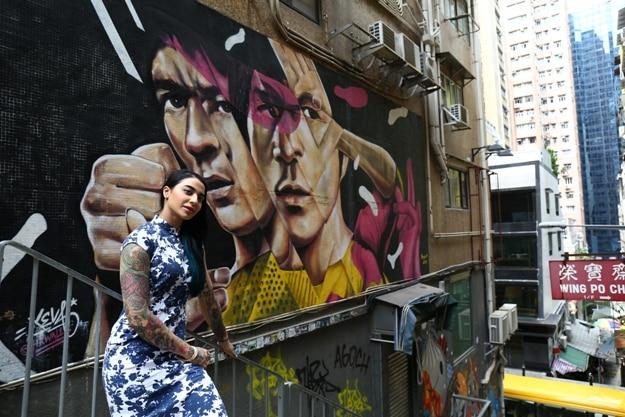 On the colorful streets of Hong Kong, Photograph courtesy: Hong Kong Tourism Board