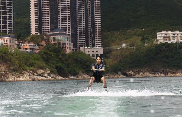 Boarding up off the Hong Kong coastPhotograph courtesy: Hong Kong Tourism Board