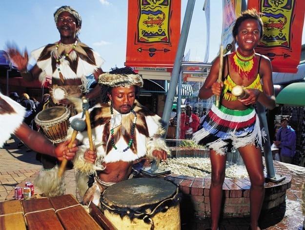 Bruma Lake flea market (Johannesburg ), Photograph courtesy: South African Tourism