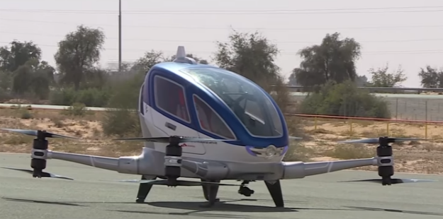 Dubai's Futuristic Hover-taxi Takes First Successful Concept Flight! WATCH VIDEO