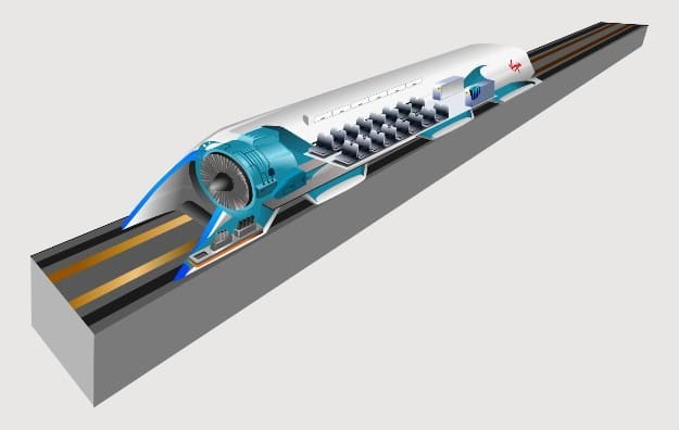 India May Get Its First Hyperloop from Vijayawada to Amaravathi