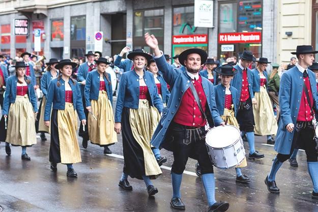 Oktoberfest 2017 costume parade