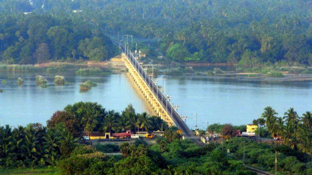 River Kaveri in Trichy