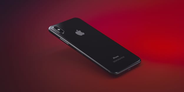 Apple iPhone 8 3D Illustration