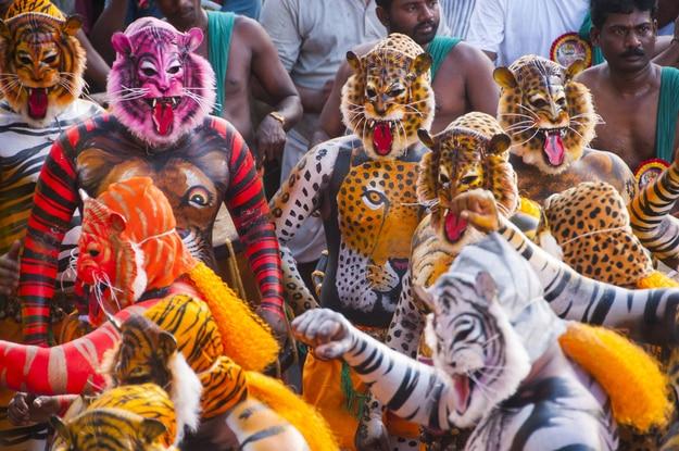 Puli Kali Thrissur Kerala