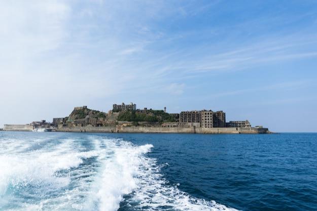 Abandoned Hashima Island