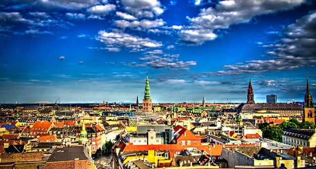 Aerial Denmark