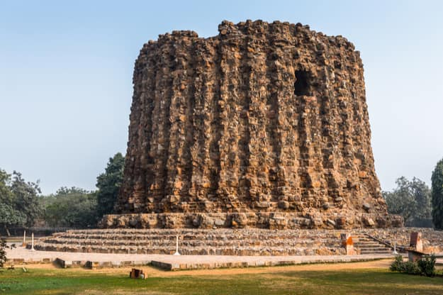 Alai Minar at the Qutub complex in Mehrauli, Delhi