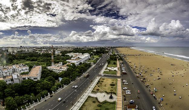 Chennai's Marina Beach