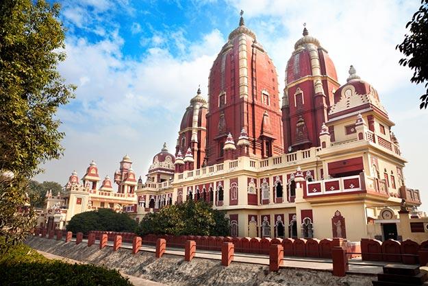 Birla temple in New Delhi