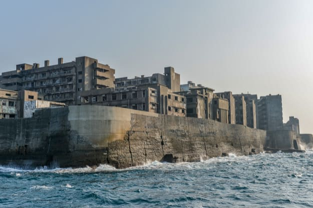 Photos of Gunkanjima Island in Japan That Showcase Its Desolate Beauty