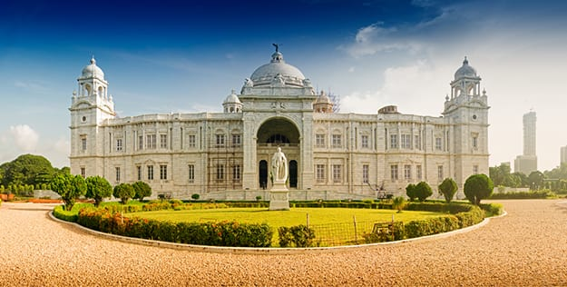 Kolkata - Victoria Memorial panorama