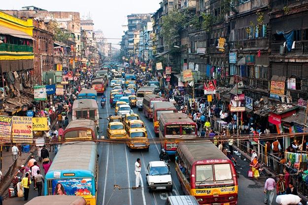Kolkata city roads