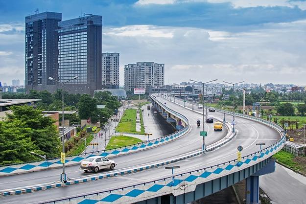 Kolkata - flyover